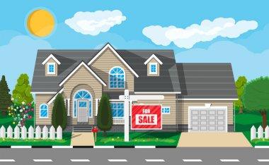 Private suburban house. Real estate