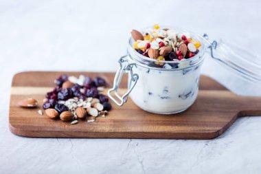 Homemade yogurt or sour cream