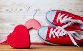 Romantické srdce a polokecky