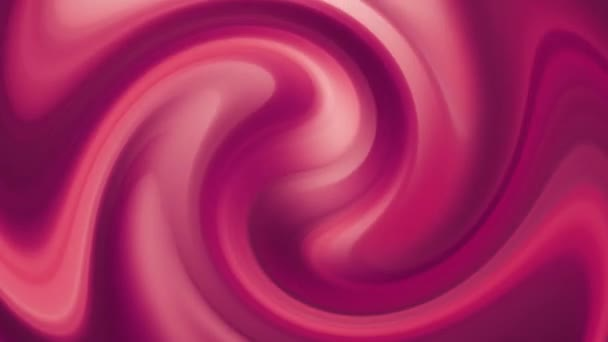 Abstract seamless loop dark pink gradient moving blurred background. The colors move in swirl radial position, producing smooth color transitions. Stylish 3D Abstract Animation Color Wavy.