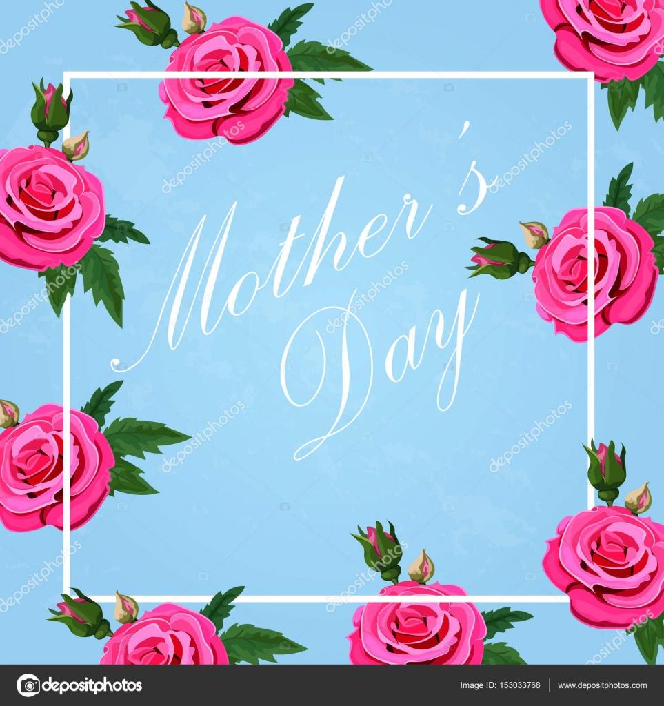 Marcos Para Invitaciones 10 De Mayo Feliz Madre Día De S Vector