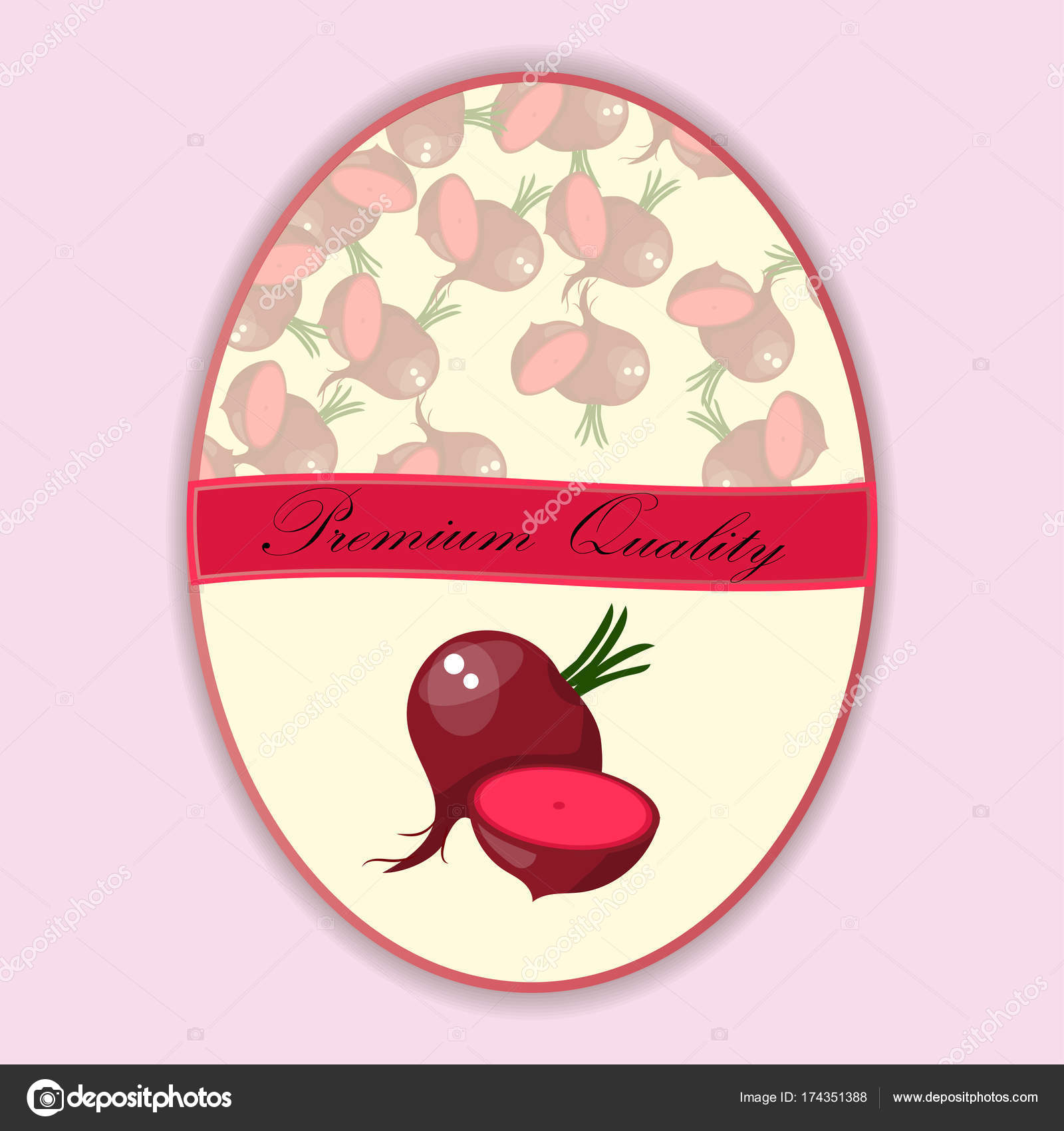 Whole ripe vegetables red beet stock vector stellal 174351388 vector illustration logo for whole ripe vegetables red beetcut slicednatural product closeup on background symbol for sauce product label or grocery buycottarizona Image collections
