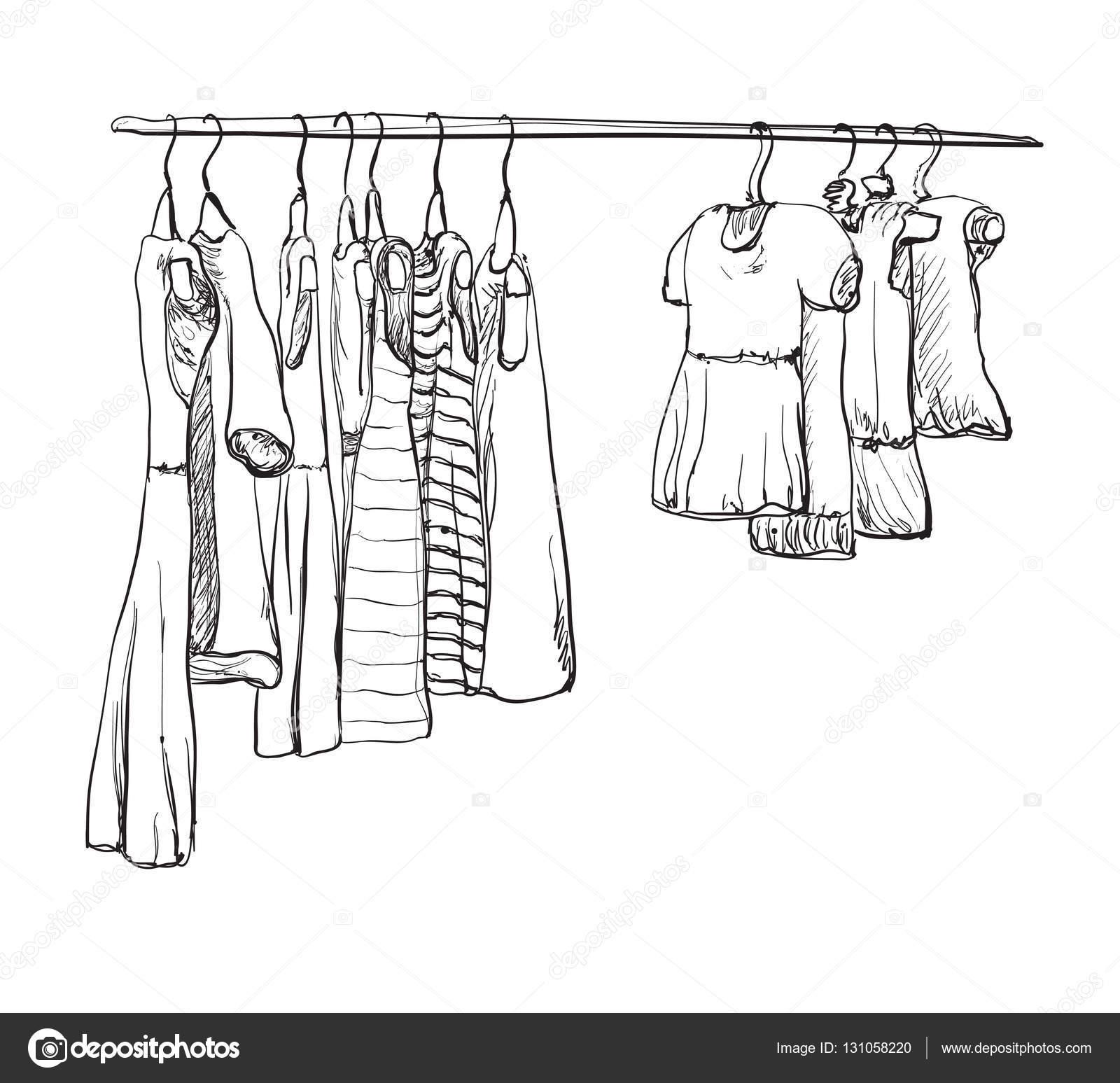 Kleiderschrank gezeichnet  Schrank Gezeichnet   daredevz.com