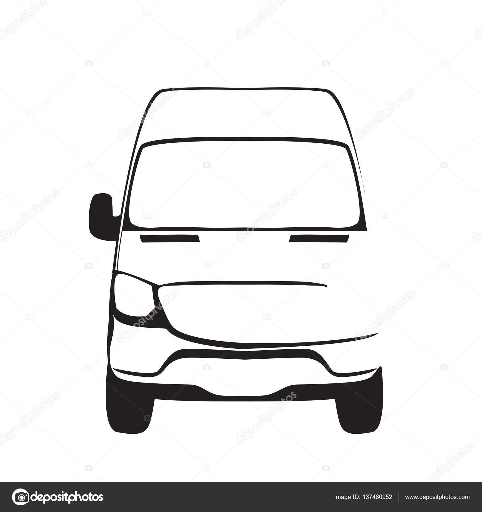 Etiqueta servicio reparación o entrega de coche. Plantilla de diseño ...
