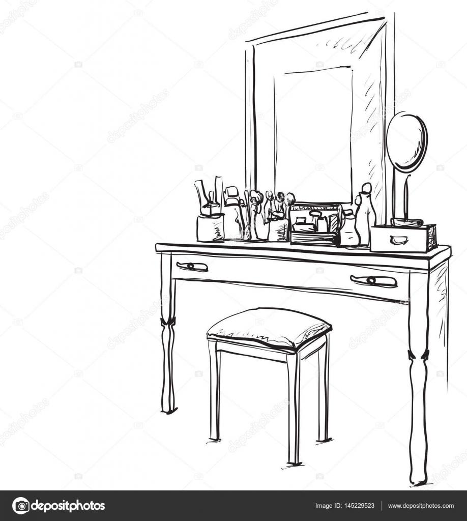 Esstisch gezeichnet  Tisch Und Stuhl Gezeichnet | rheumri.com