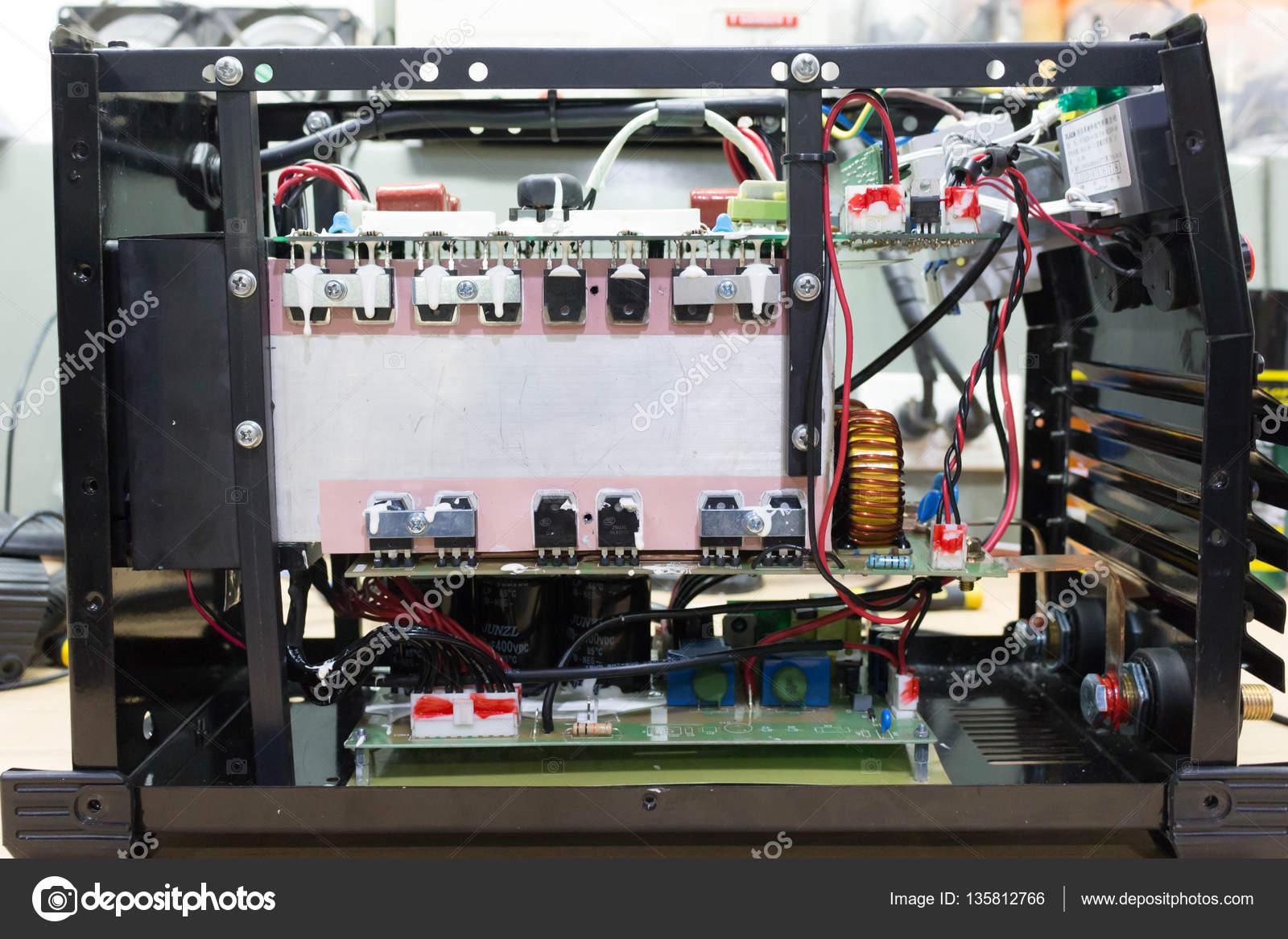 electronic circuit board in welding \u2014 stock photo © nanaboo 135812766electronic circuit board in welding \u2014 stock photo