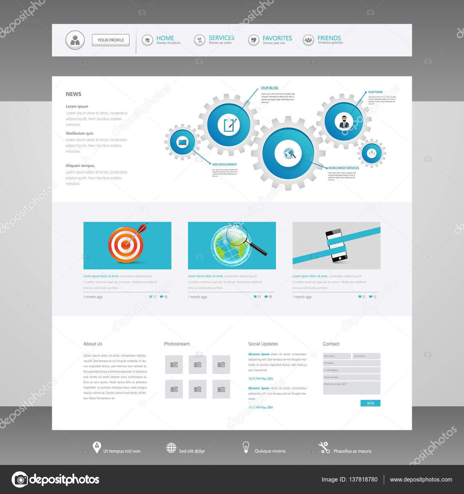 Дизайн шаблона сайтов 60