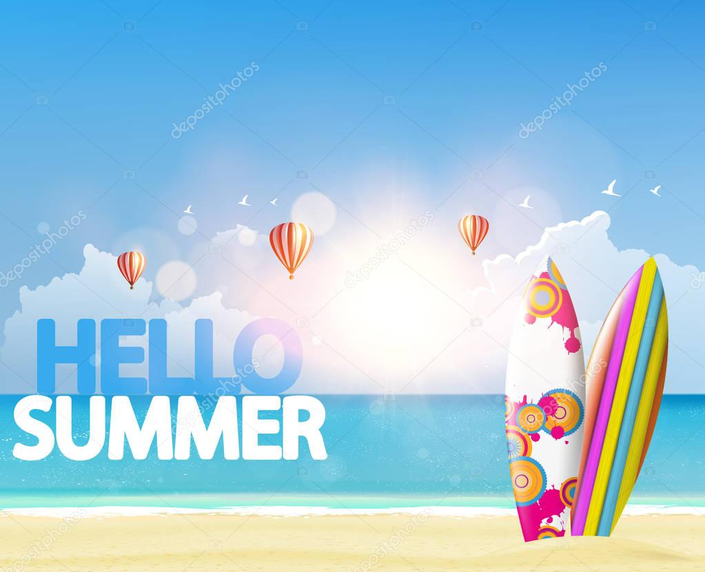 Say Hello to Summer poster