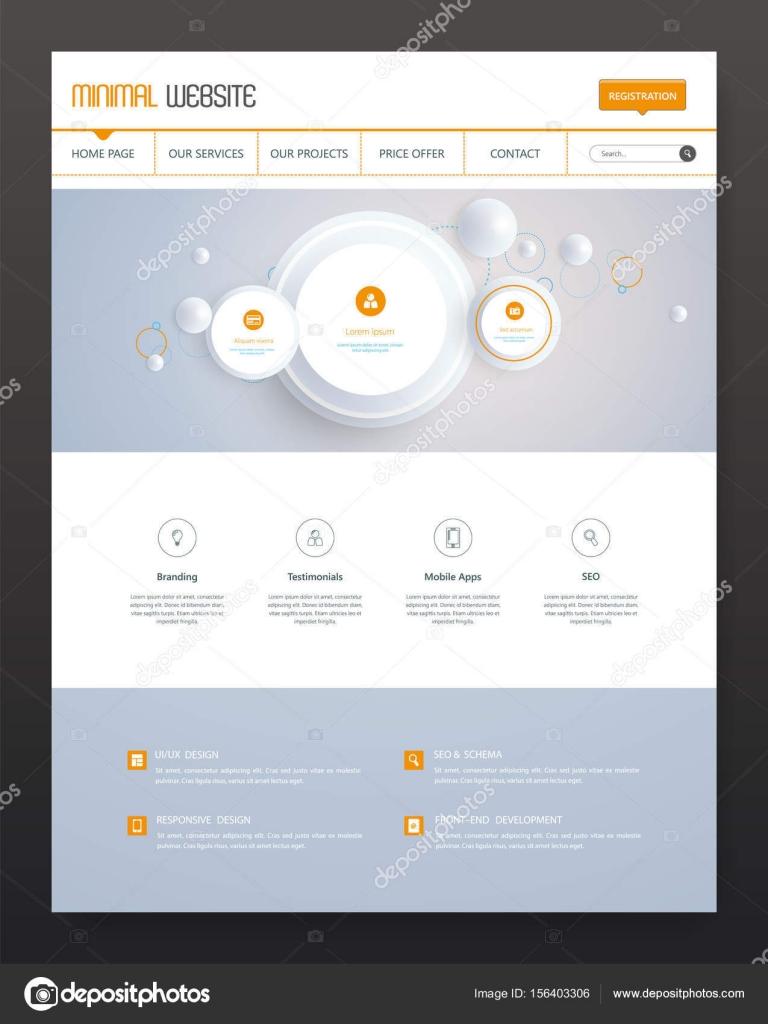 Atemberaubend Moderne Website Vorlagen Ideen - Entry Level Resume ...