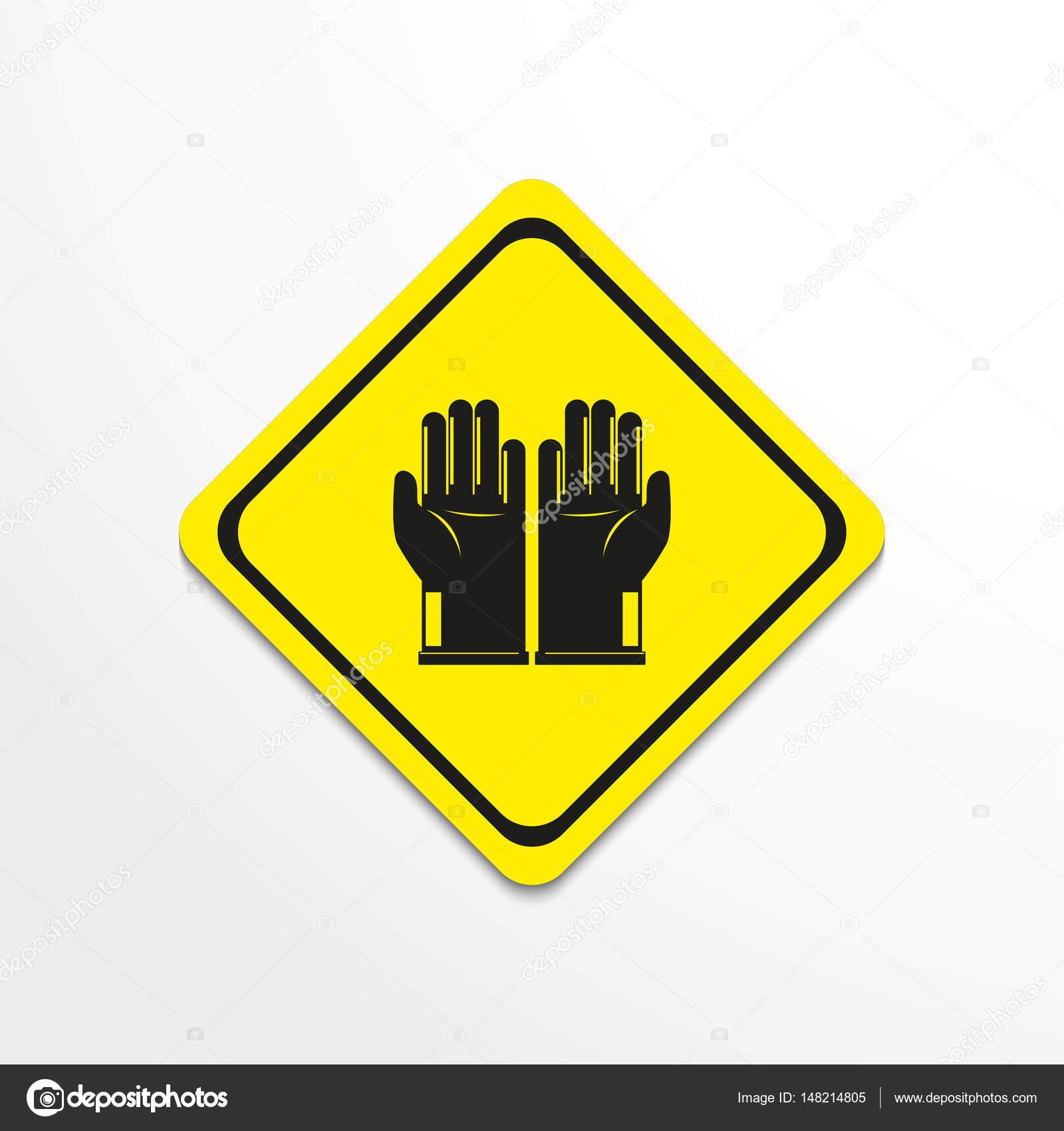 Gloves Symbol Vector Icon Stock Vector Ivosoier 148214805