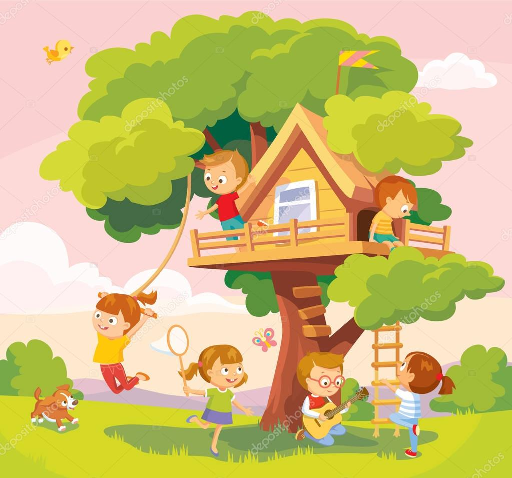Tree-house for kids