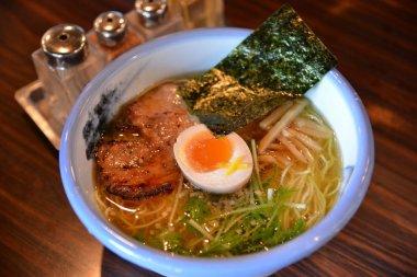 Five production ramen noodles