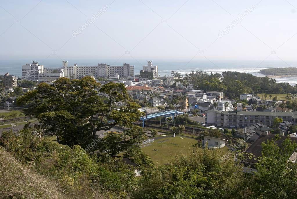 Aogashima village view — Stock Photo © topphoto #141424076