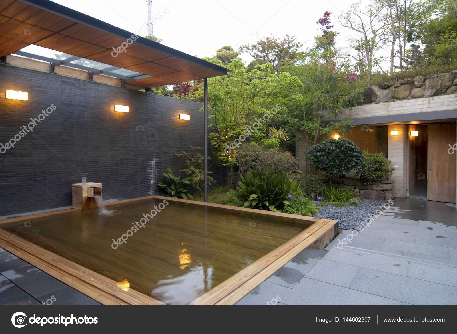 Modern Japanese House Exterior Design Garden Of Modern