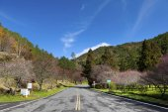 bellissimo paesaggio di montagna verde a nuova taipei, taiwan