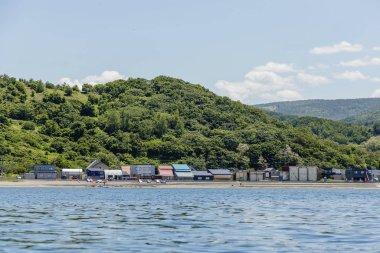 Landscape of Shioya coast, Japan.