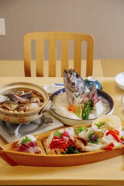 asian dish on the table at daytime