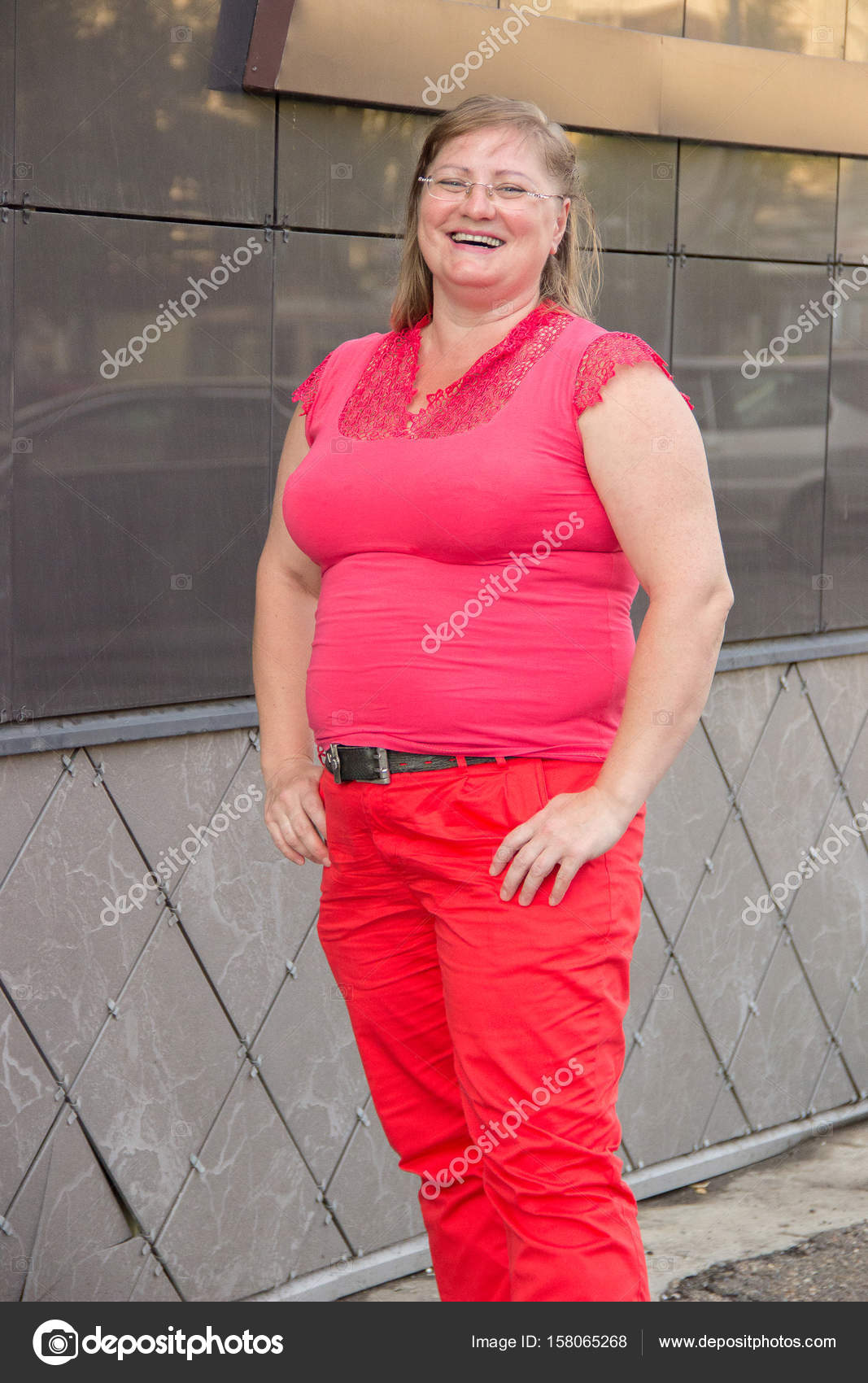 une femme obese