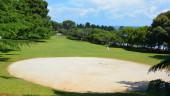 golfové hřiště na jihu Thajska