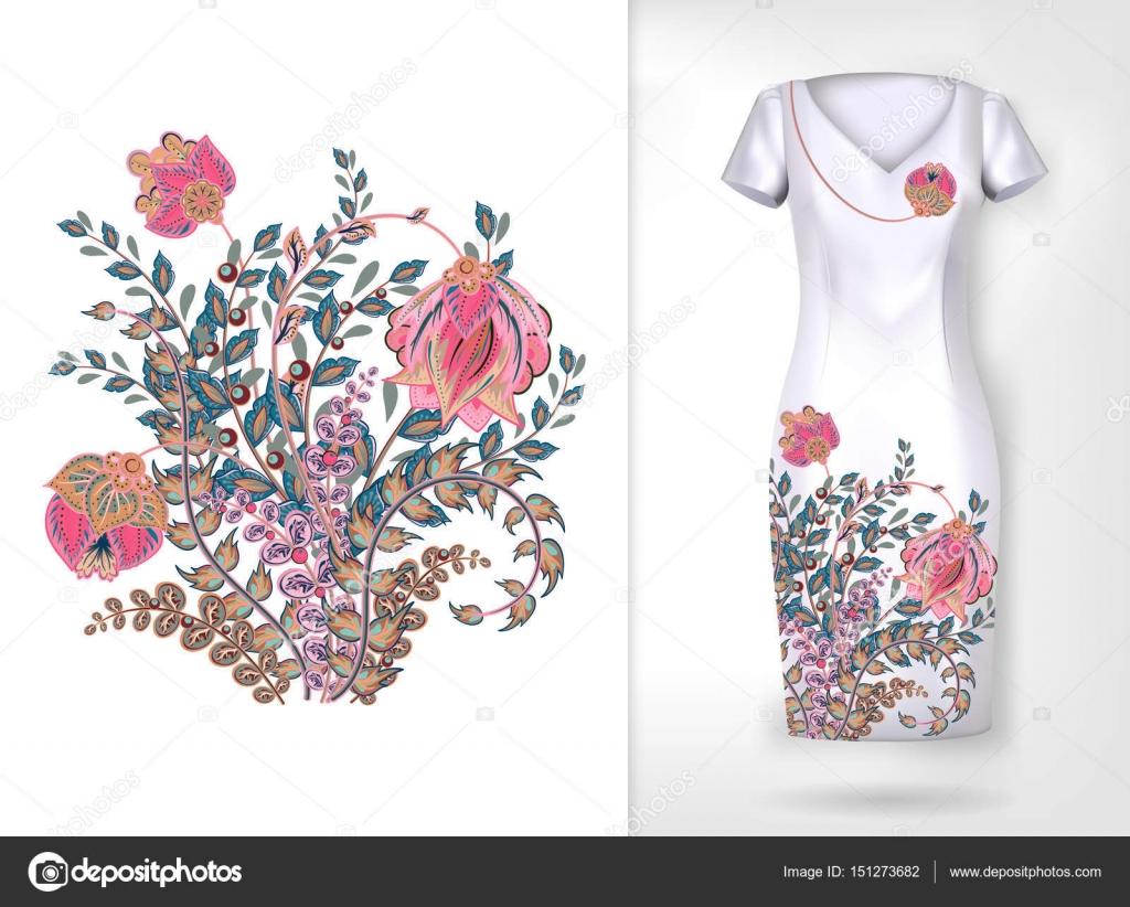 Patron de flores para bordar | Patron para bordar colores tendencia ...