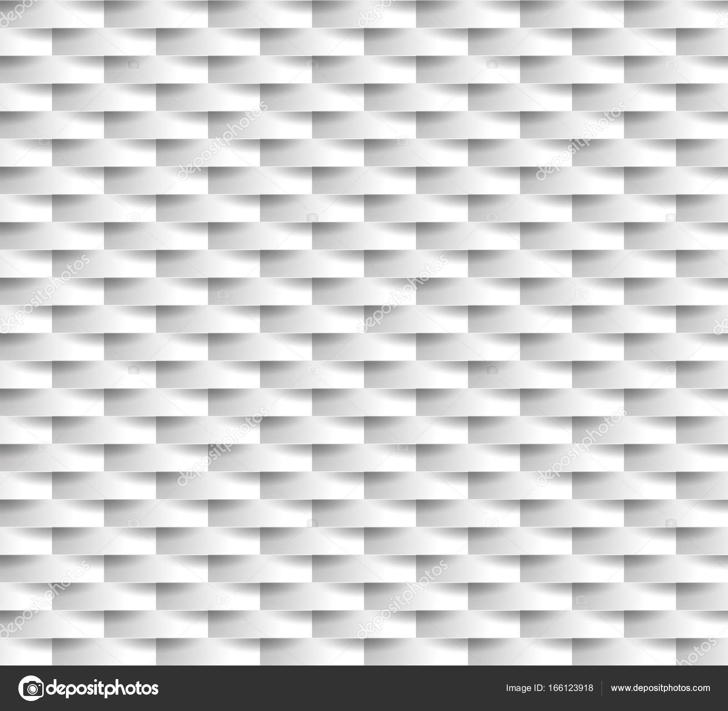 White Seamless Texture. Wavy Background. Interior Wall