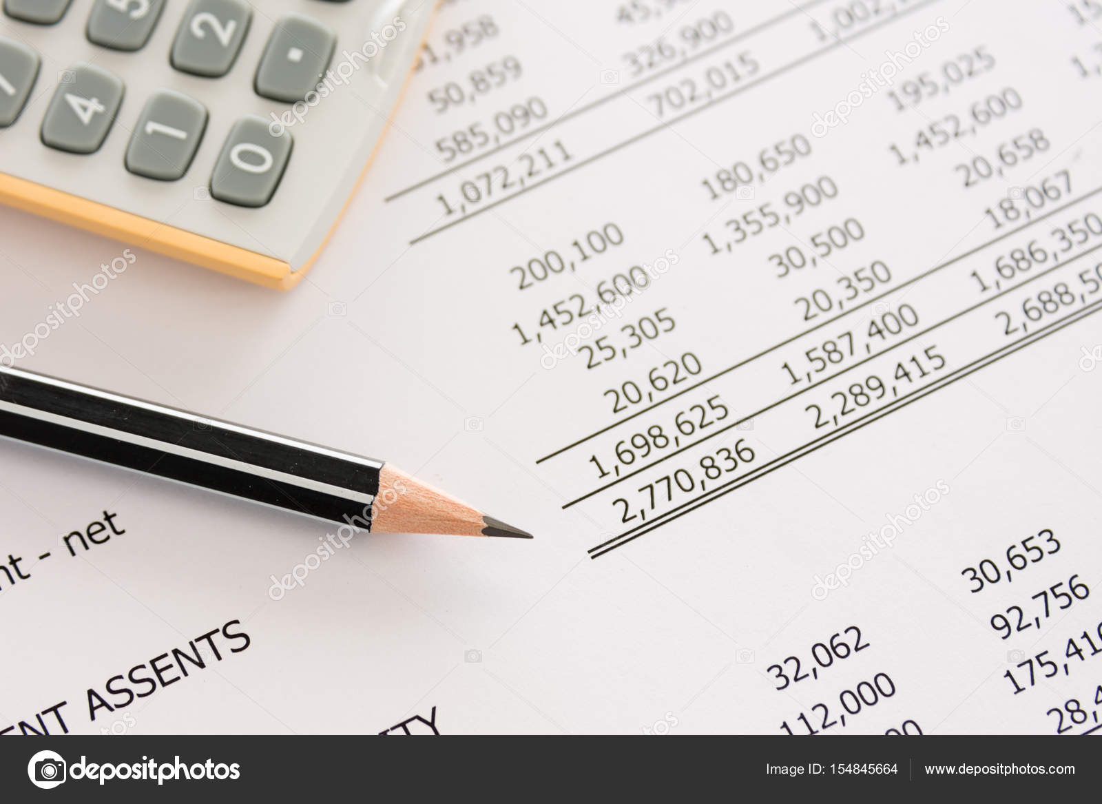 balance sheet calculator