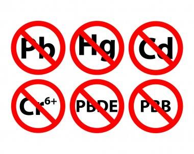 Contains no lead. Contains no mercury. Contains no cadmium. Contains no hexavalent chromium. Contains no Cr6. Contains no PBB. Contains no polybrominated. Contains no PBDE.