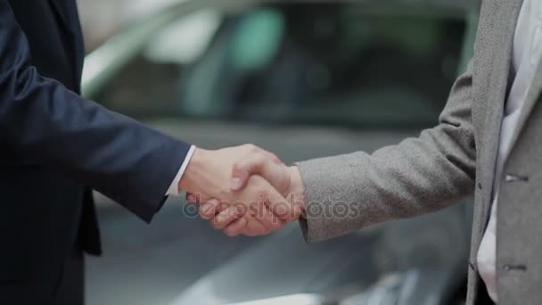 handshake after successful deal