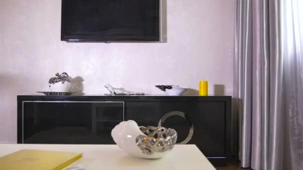 Ukázka návrhu interiéru obývacího pokoje