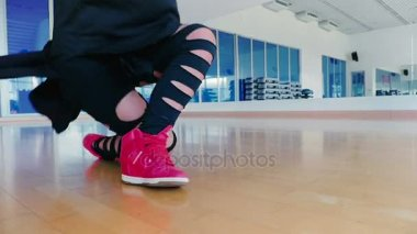 Young woman hip-hop dancer