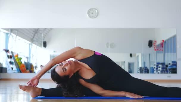 rugalmas jóga barna nő