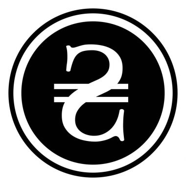 Sign currency Ukraine hryvnia, Ukraine hryvnia, vector
