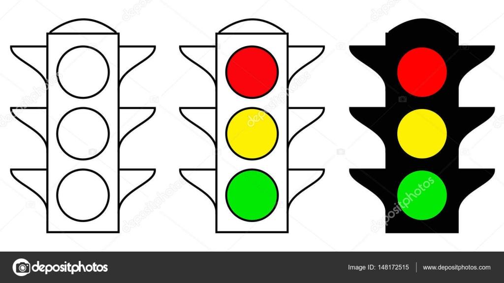 set traffic light interface icons. Red, yellow and green yes, no ... for Traffic Light Yellow Icon  117dqh