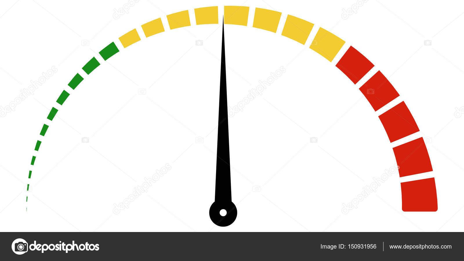 Geschwindigkeit Dosierung Symbol Maßstab Meter gebrochen in Sektoren ...