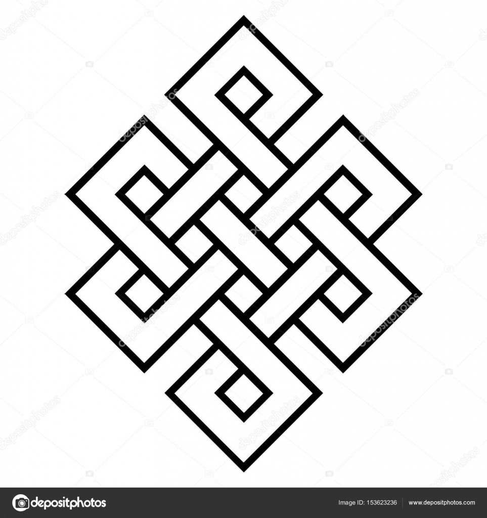 Buddhist symbols images gallery symbol and sign ideas cultural symbol of buddhism endless knot stock vector cultural symbol of buddhism endless knot vector buddhist buycottarizona