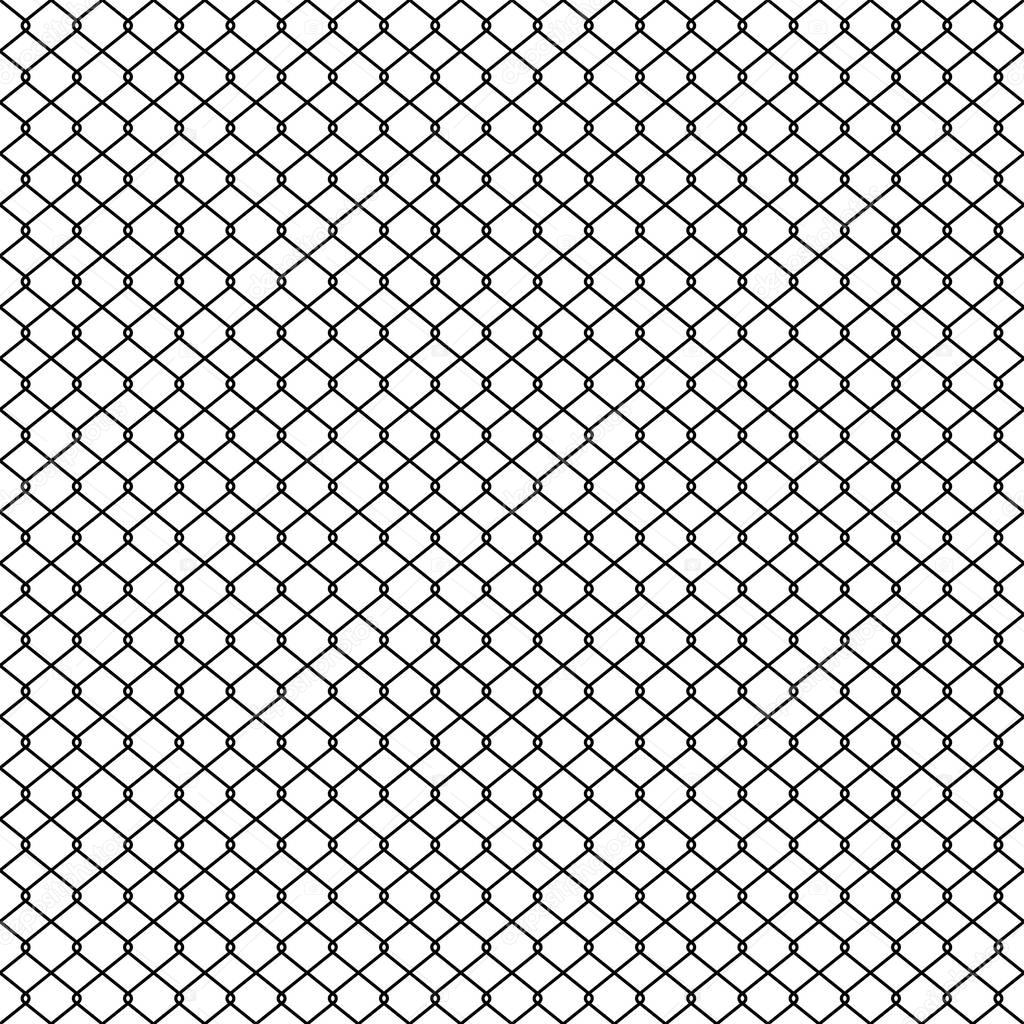 Seamless Pattern Wire Mesh Chain Link Fence Vector Isolated Wallpaper Background Buy This Stock Vector And Explore Similar Vectors At Adobe Stock Adobe Stock