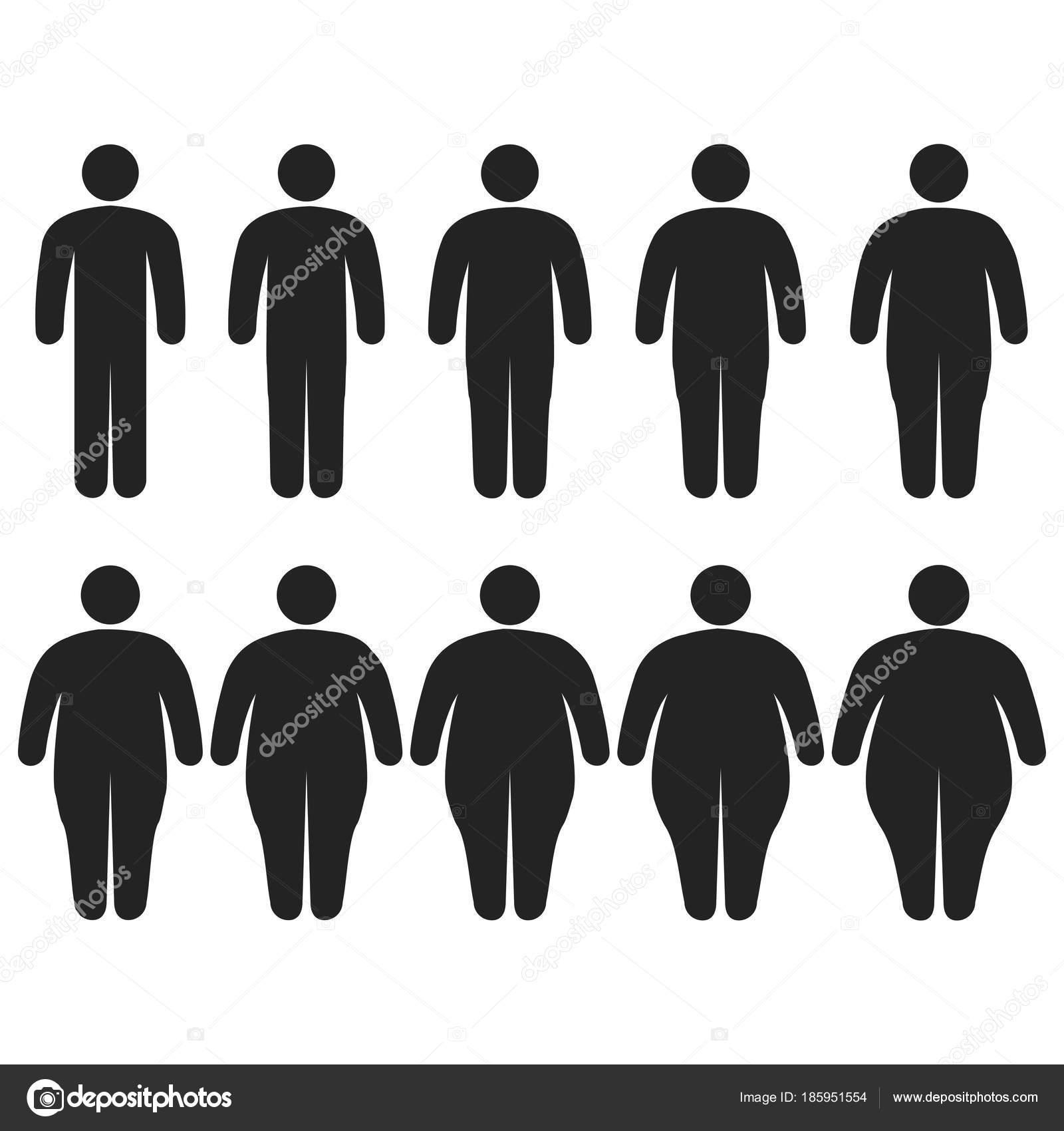 icona di grasso corporeo