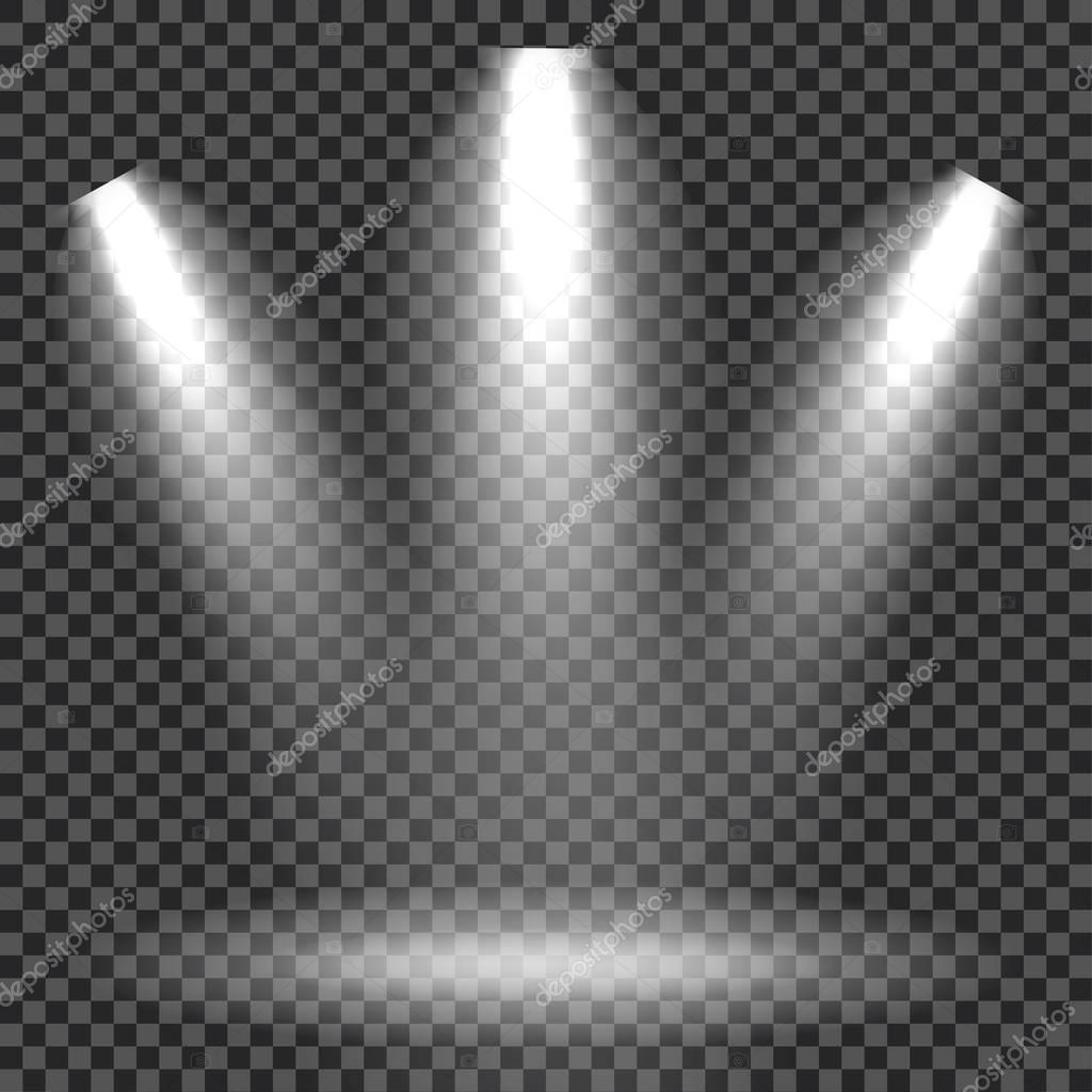 efectos de iluminacin de escena en cuadros fondo con la brillante iluminacin de proyectores u
