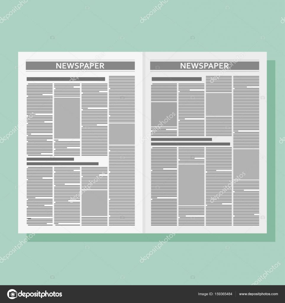 Plantilla de diseño gráfico periódico — Vector de stock © klerik78 ...