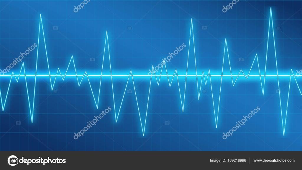 Sound Waves Oscillating Glow Neon Light Spectrum Analyzer Music Equalizer Amplitude Modulation