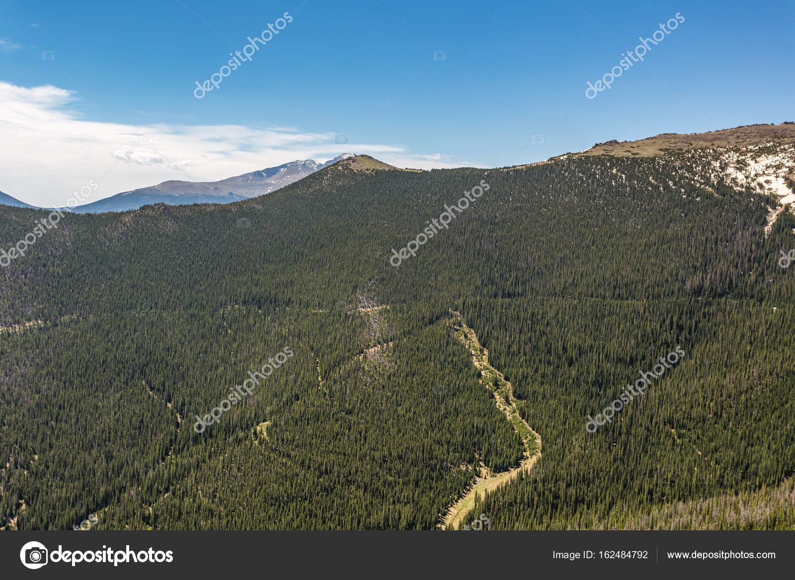 Rainbow Curve Overlook in Rocky Mountain National Park