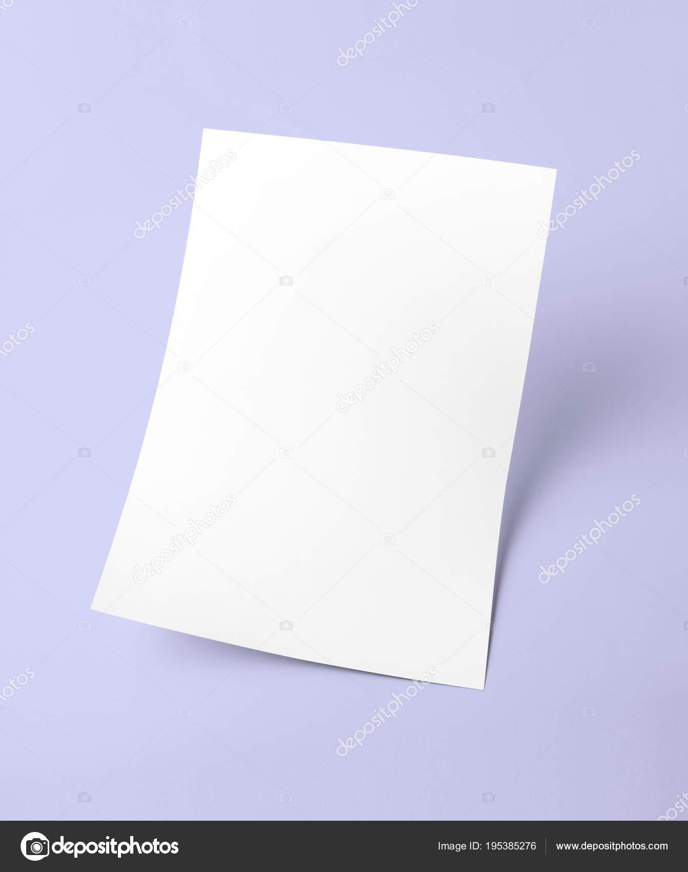 document vierge sur