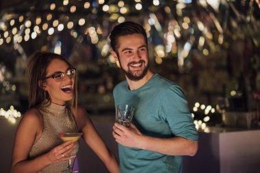 Couple In A Nightclub