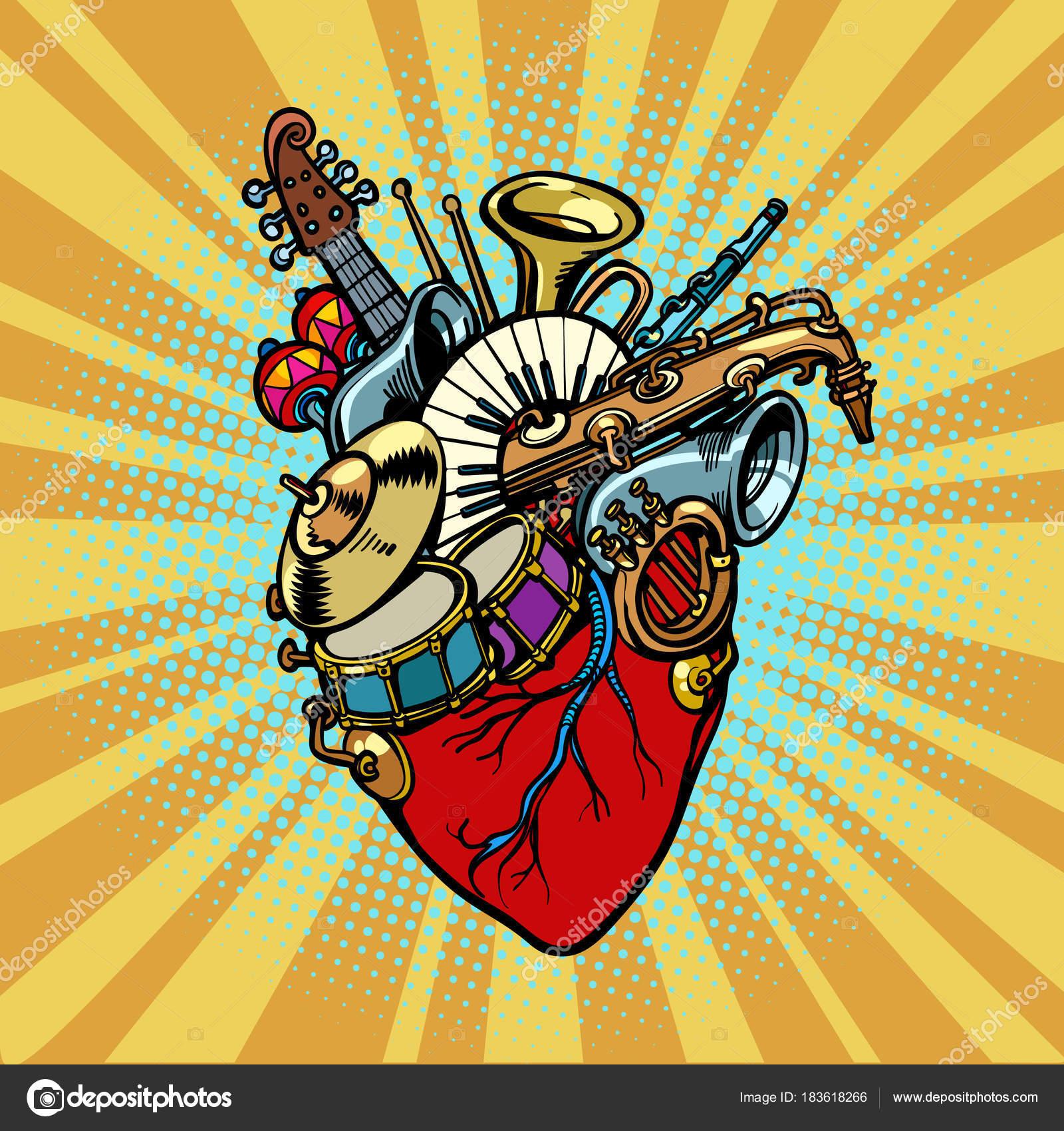 Música No Coração, Instrumentos Musicais De Orquestra
