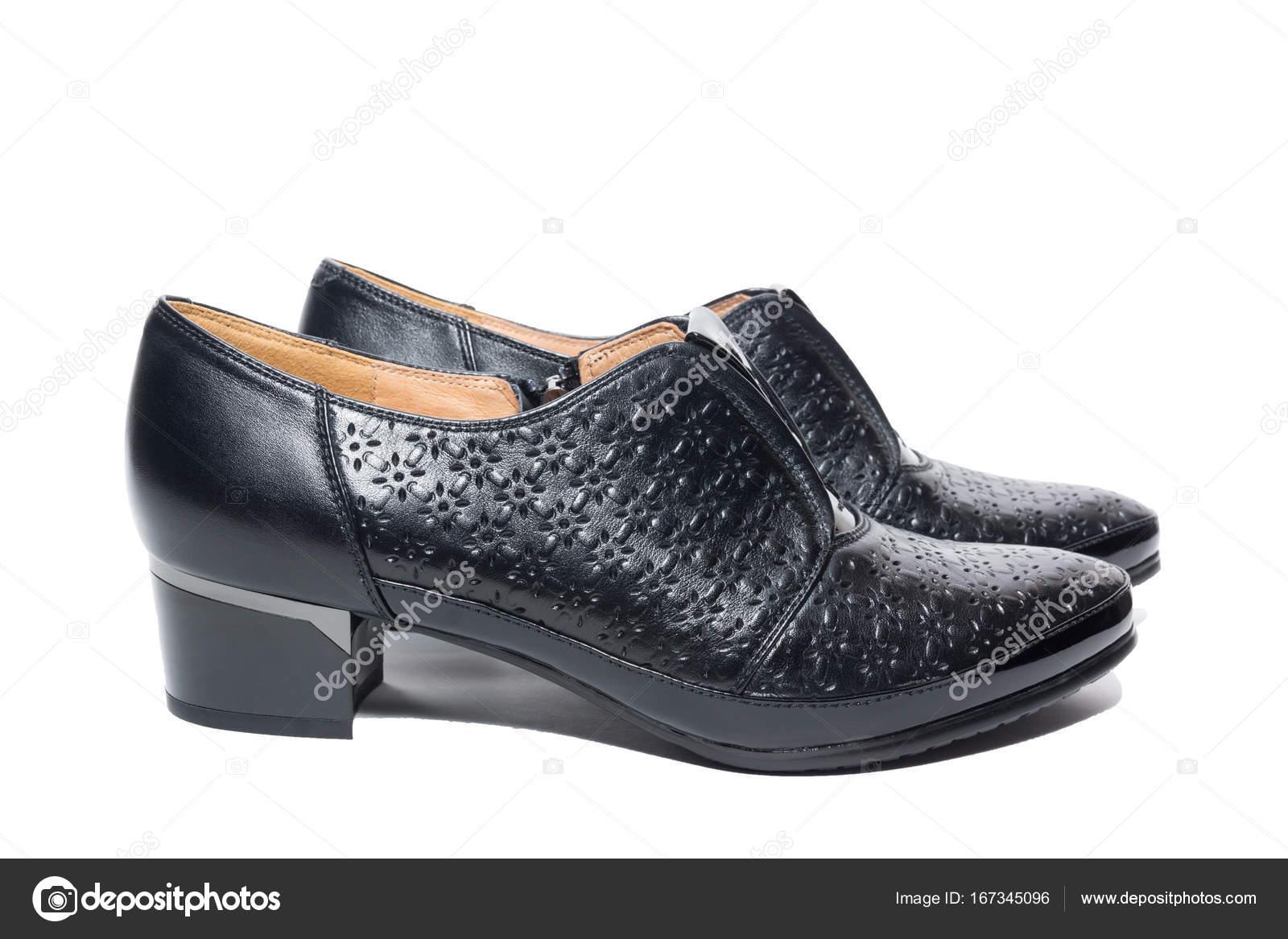 Schwarze Damensportschuhe