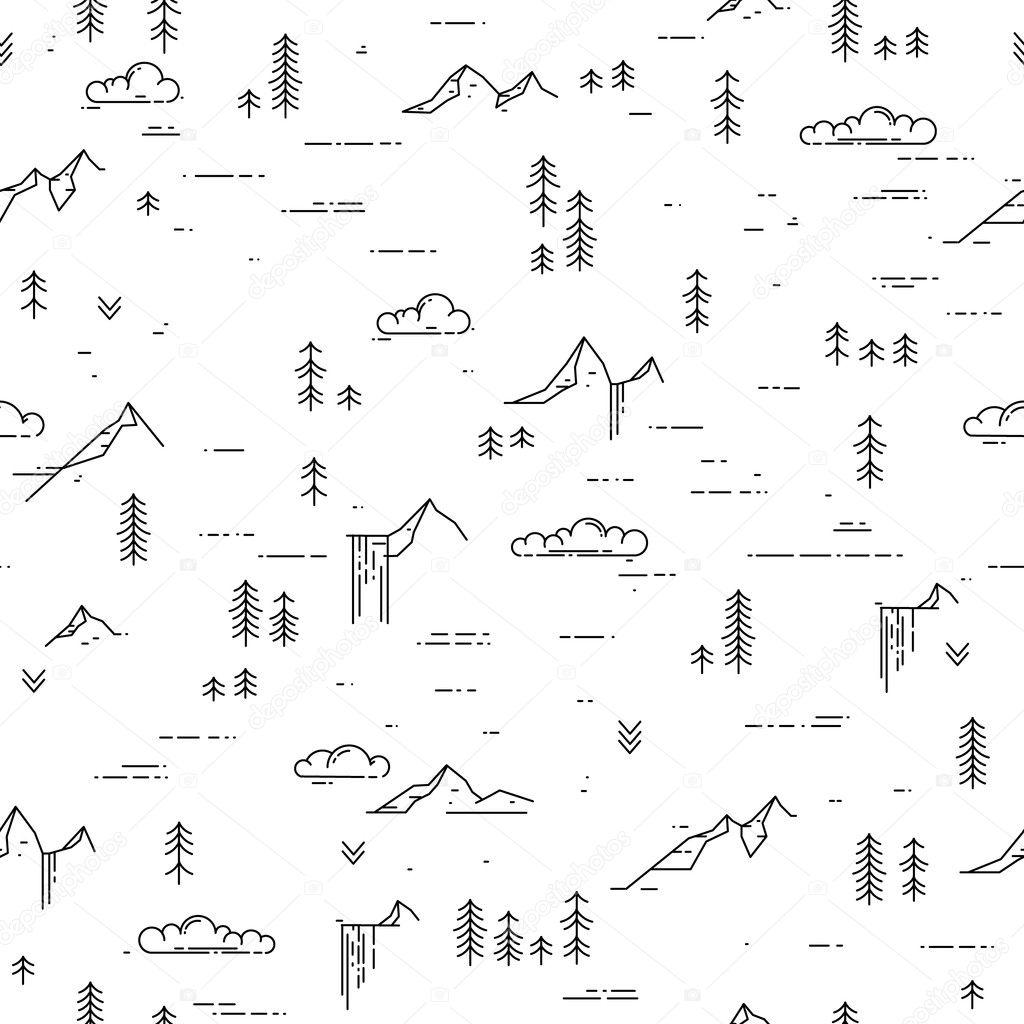 Blanco y negro al aire libre fondo — Archivo Imágenes Vectoriales ...