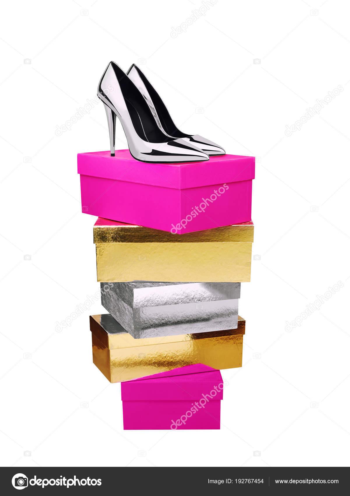 Superior FotosCaja Parte Mujer De En ZapatosPlata La dCoBxe