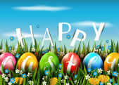 Fotografie happy easter-card