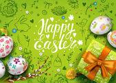 Glückliche Osterkarte