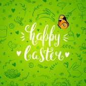 Template Easter card